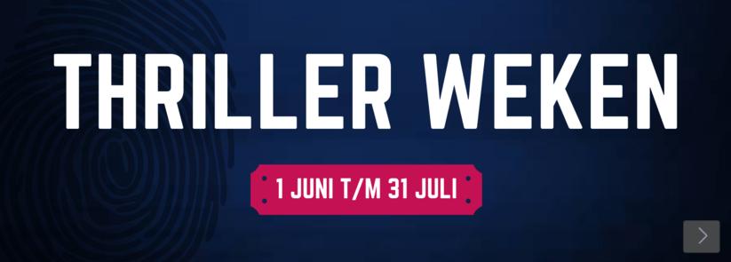 Thriller weken banner